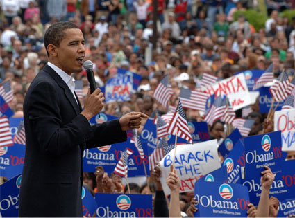 Barack Obama 4 novembre 2008.