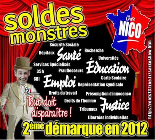 En deux ans, avec Nicolas Sarkozy, ce sont presque toutes nos valeurs françaises qui ont été soldées!